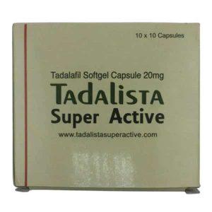 タダリスタスーパーアクティブ 箱