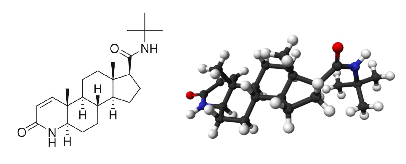 フィナステリドの化学構造の3Dモデルは以下をご参照ください