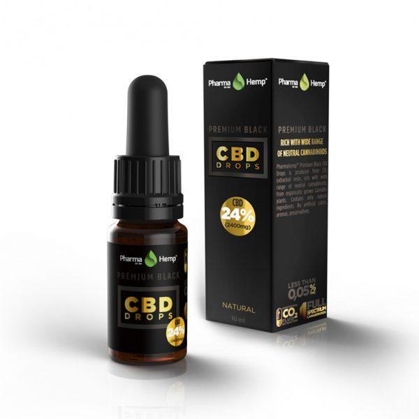 Premium Black CBD Oil Drop 24%