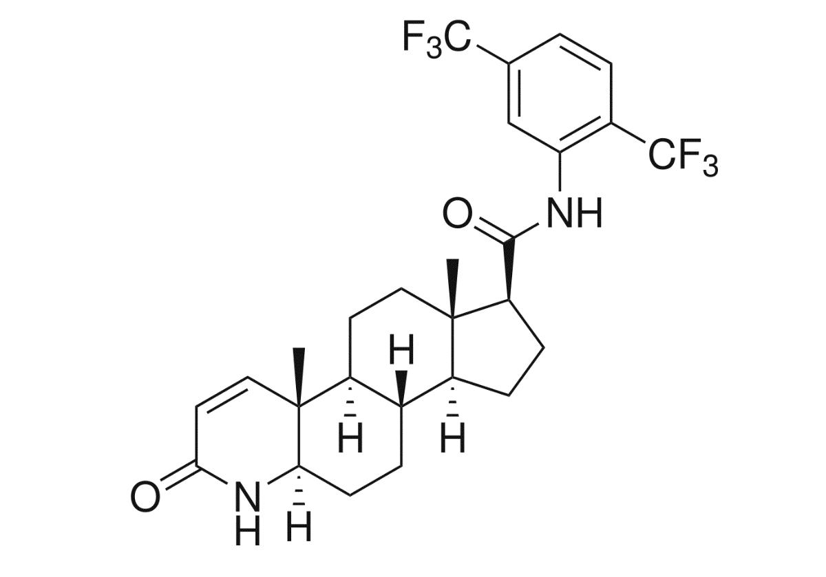 デュタステリド化学式